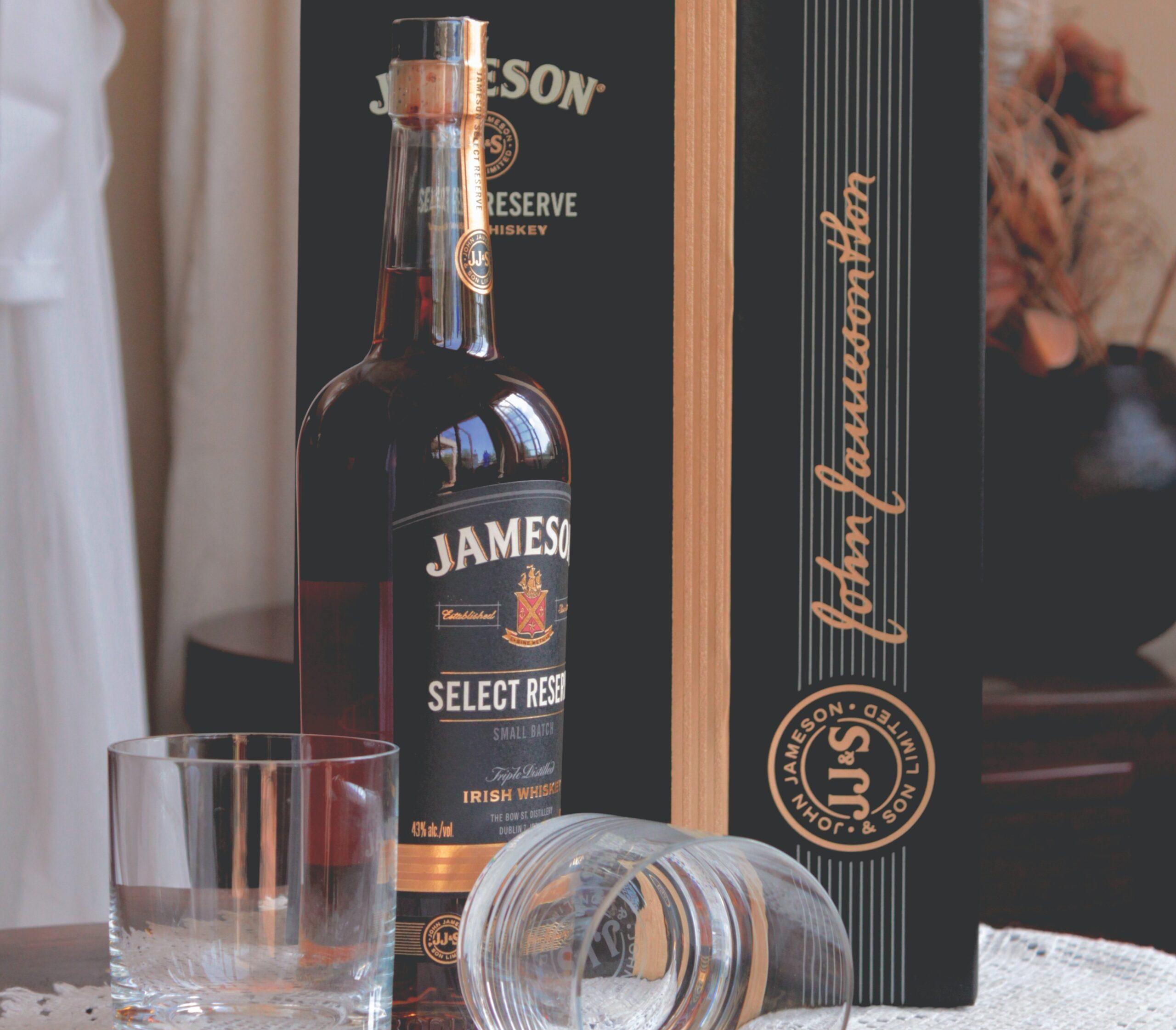 Flasche Jamesons
