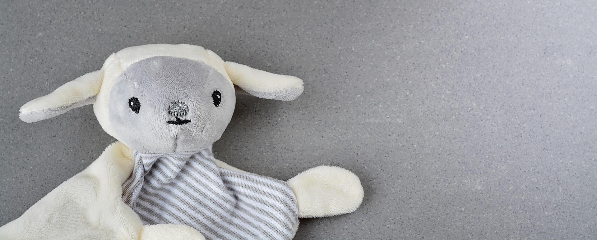 Schmusetuch als Schaf